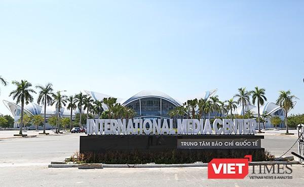 Trung tâm Báo chí quốc tế tại Đà Nẵng phục vụ APEC 2017 hoàn thành sau 8 tháng thi công.