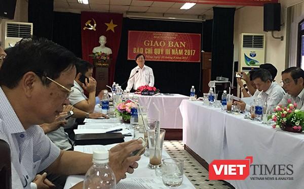 Ban tuyên giáo Thành ủy Đà Nẵng vừa yêu cầu cơ quan báo chí thông tin khách quan, không đánh giá, suy đoán, hạn chế đi sâu khai thác các vấn đề liên quan đến kết luận sai phạm ở Đà Nẵng của Ủy ban Kiểm tra Trung ương.