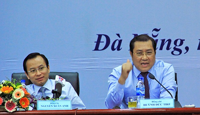 Ủy ban Kiểm tra Trung ương vừa có quyết định thi hành kỷ luật hình thức cảnh cáo đối với ông Huỳnh Đức Thơ, Chủ tịch UBND TP Đà Nẵng về những sai phạm đã kết luận trước đó.