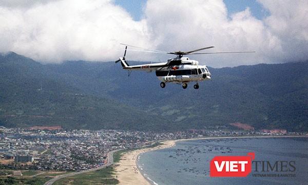 Để chuẩn bị tốt nhất cho APEC diễn ra tại Đà Nẵng, Quân khu V đã bố trí 1 trực thăng tại bán đảo Sơn Trà sẵn sàng tham gia để vận chuyển và cấp cứu bệnh nhân khi cần.