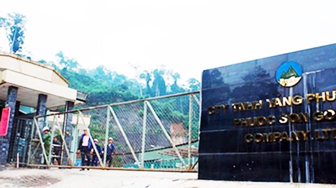 Công ty TNHH vàng Phước Sơn (thuộc Tập đoàn Besra tại Quảng Nam)