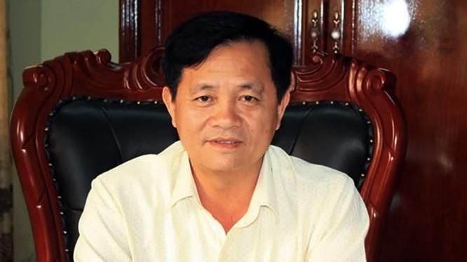 Ông Lê Văn Sơn, Phó Bí thư Quận ủy, Chủ tịch UBND quận Cẩm Lệ (ảnh Đinh Nga CAĐN)