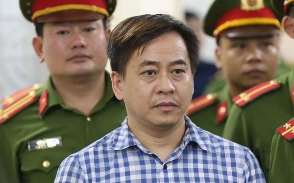 Phan Văn Anh Vũ bị TAND Hà Nội tuyên phạt 9 năm tù tại phiên xử cuối tháng 7 vừa qua. Ảnh: TTXVN