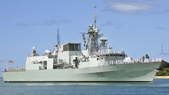 Tàu Hải quân Hoàng Gia Canada (HMCS) Calgary sẽ đến thăm Đà Nẵng từ ngày 26/9-30/9 tới.