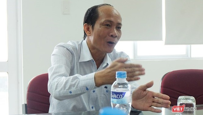 Ông Hồ Hương, Tổng Giám đốc Công ty CP cấp nước Đà Nẵng