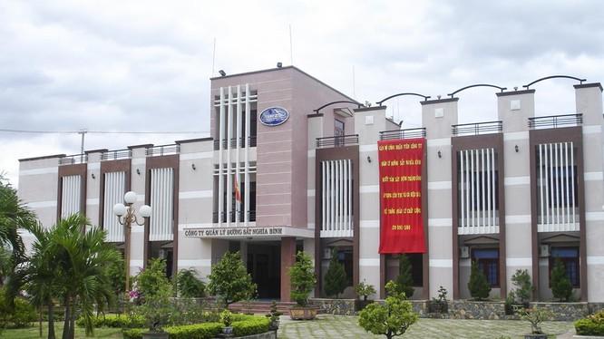 Công ty CP Đường sắt Nghĩa Bình đã chia thửa đất diện tích 14.680, tại địa chỉ số 02 Phó Đức Chính (TP Quy Nhơn) thành 05 khu chức năng khi chưa có phê duyệt quy hoạch chi tiết.