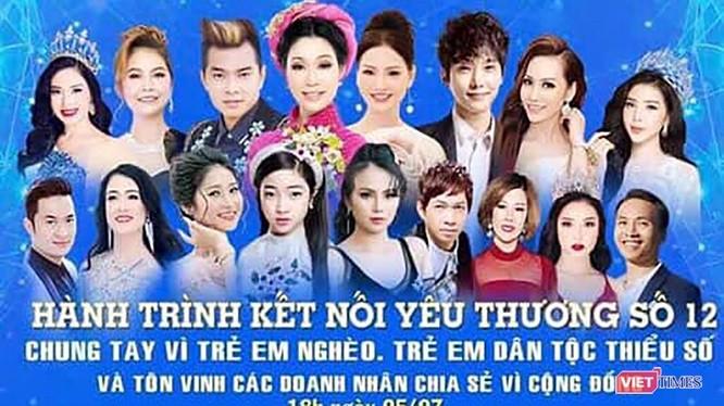 Thanh tra Sở VH&TT TP Đà Nẵng vừa ra quyết định xử phạt 20 triệu đồng đối với đơn vị tổ chức chương trình Hành trình kết nối yêu thương tại Đà Nẵng