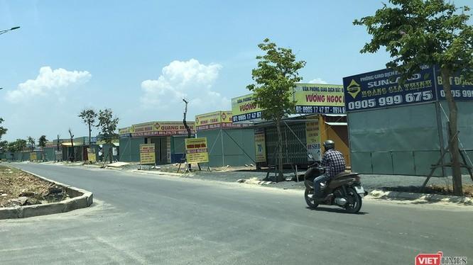 """Một góc đường tại khu đô thị Nam Hòa Xuân vào thời điểm giá đất được """"thổi"""" lên cao"""