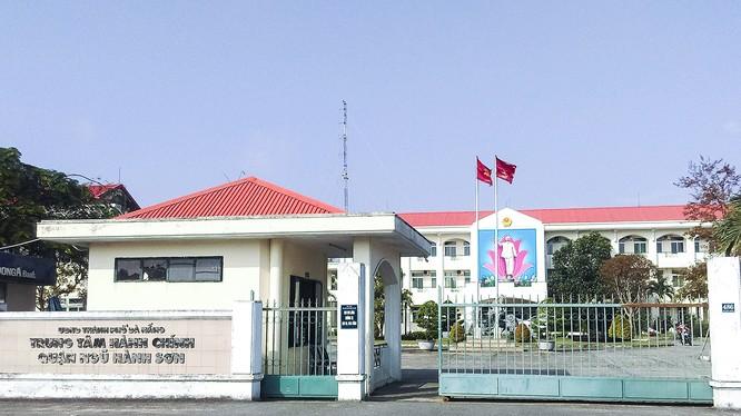 Trụ sở UBND quận Ngũ Hành Sơn (TP Đà Nẵng)