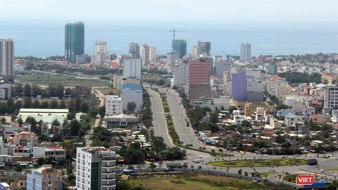 Một góc Đà Nẵng nhìn từ trên cao