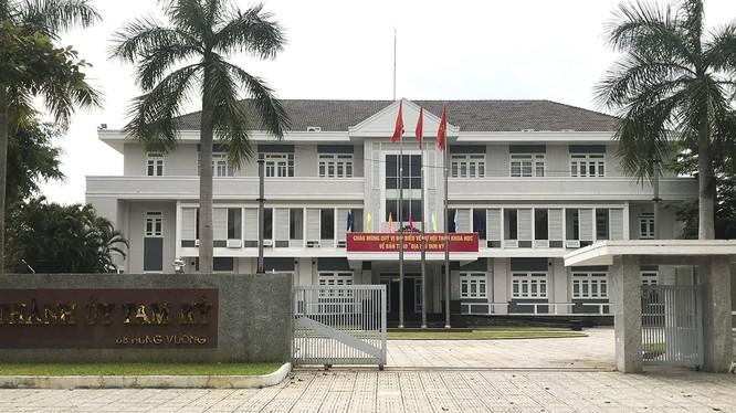Trụ sở Thành ủy Tam Kỳ, tỉnh Quảng Nam (ảnh daidoanket.vn)