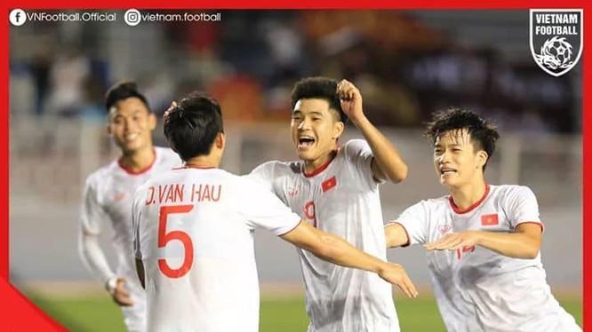 Cầu thủ Hà Đức Chinh (ảnh VF)