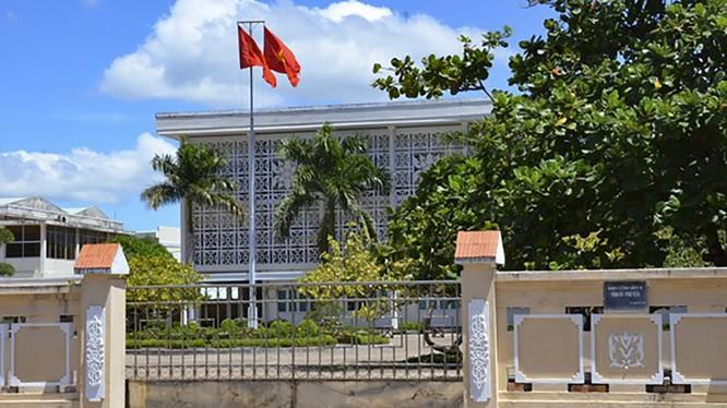 Trụ sở Ủy ban Kiểm tra tỉnh Phú Yên (ảnh minh họa LP)