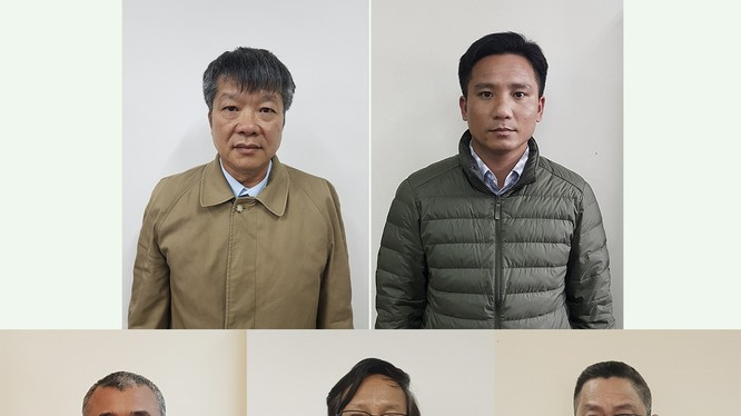 5 đối tượng vừa bị khởi tố, bắt tạm giam, cấm đi khỏi nơi cư trú do liên quan đến sai phạm tại Dự án đường cao tốc Đà Nẵng - Quảng Ngãi.