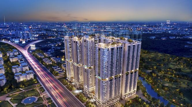 Phức hợp thương mại và căn hộ cao cấp Astral City sở hữu vị trí chiến lược mặt tiền QL13 - tuyến đường huyết mạch từ TP.HCM đến Bình Dương