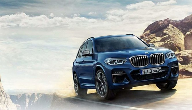 BMW X3 hoàn toàn mới