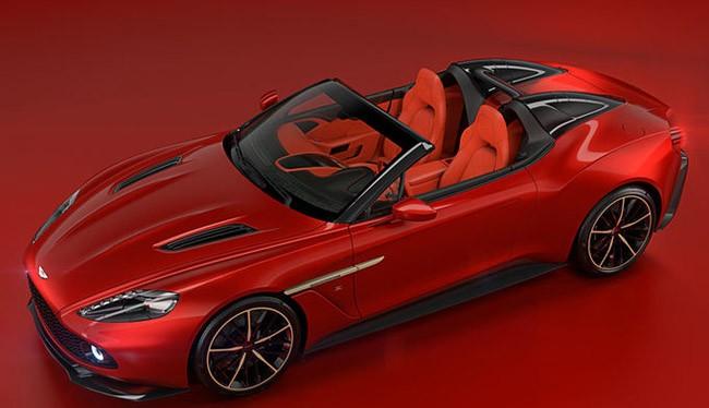 Aston Martin Zagato Vanquish Speedster (ảnh automobile)