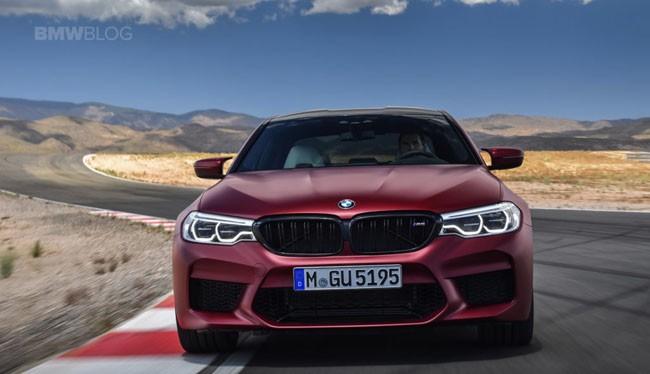 BMW M5 thế hệ mới Ảnh: bmwblog.com