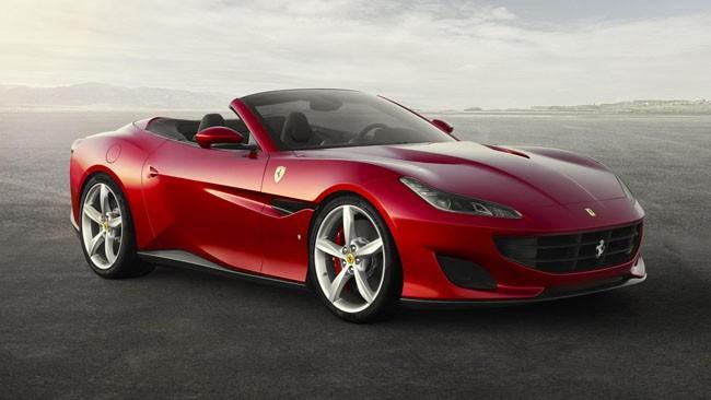 Siêu xe Ferrari Portofino Ảnh: topgear.com