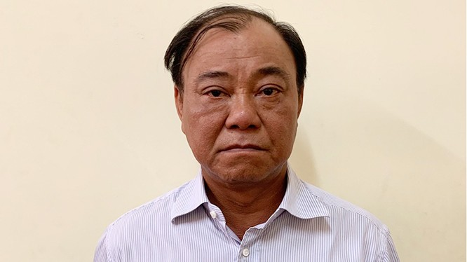 Bị can Lê Tấn Hùng.