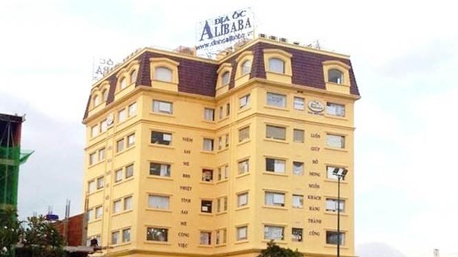 Trụ sở công ty Alibaba ở TP.HCM.