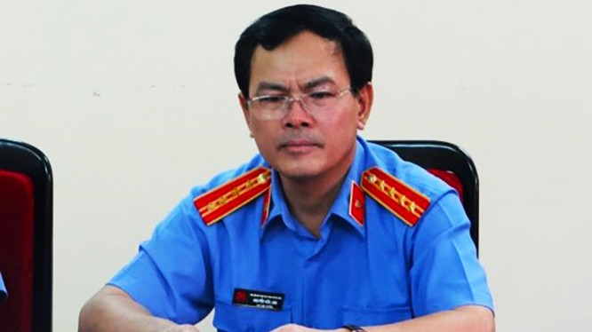 Bị can Nguyễn Hữu Linh từng là Phó Viện trưởng VKSND TP. Đà Nẵng.