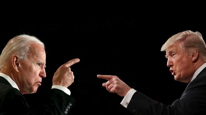 Cuộc quyết đấu giữa ông Donald Trump và ông Joe Biden sẽ ngã ngũ vào ngày 3/11 tới đây (Ảnh: Nikkei)