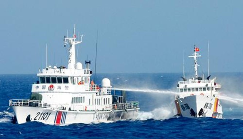 Trong vài năm qua, đã có nhiều căng thẳng và đụng độ xảy ra trên Biển Đông giữa lực lượng này với các tàu chấp pháp của Việt Nam.