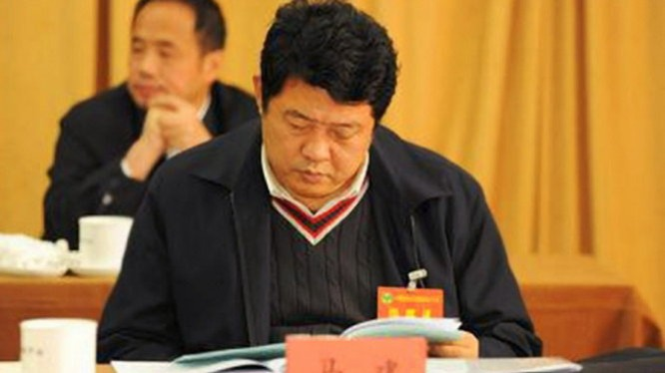 Mã Kiến, quyền thứ trưởng Bộ công an Trung Quốc vừa bị bắt - Ảnh: newschina.com