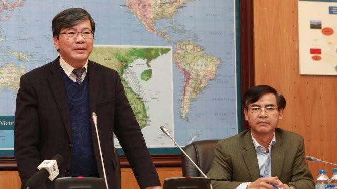 Ông Phạm Ngọc Minh – Tổng giám đốc Vietnam Airlines (VNA) tại buổi trao đổi với báo chí chiều 12-1