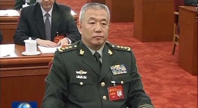 Phó Tổng Tham mưu trưởng Quân Giải phóng Nhân dân Trung Quốc (PLA) Vương Kiến Bình Ảnh: CCTV