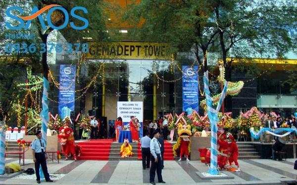 Số tiền Gemadept đầu tư sang Campuchia là một phần trong số tiền chuyển nhượng toà nhà Gemadept Tower cuối năm 2013