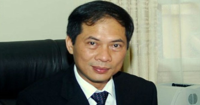 Ông Bùi Thanh Sơn, Thứ trưởng Bộ Ngoại giao.