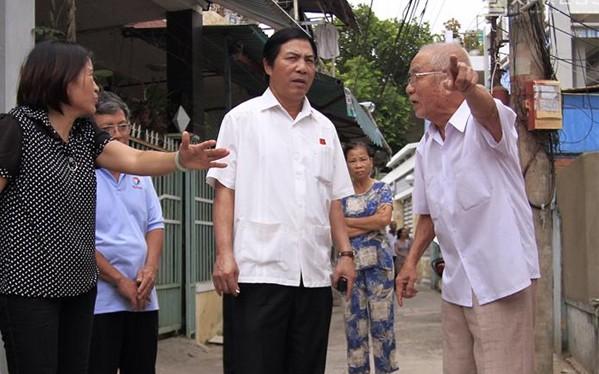 Ông Nguyễn Bá Thanh rất sâu sát, gần dân