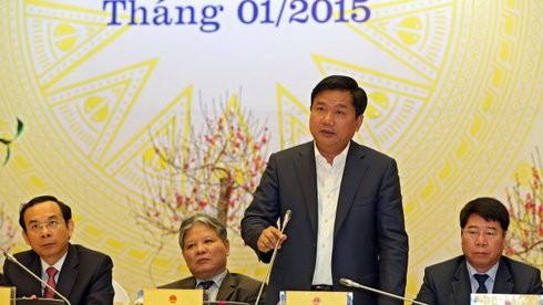 Ông Đinh La Thăng tỏ ra quyết liệt trong công việc