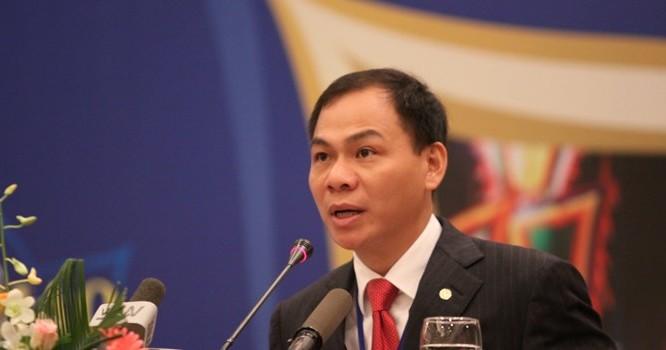 Tỷ phú Phạm Nhật Vượng.