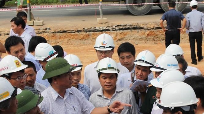 Bộ trưởng Thăng rất quyết liệt trong vấn đề tiến độ, chất lượng công trình