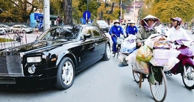 Sự chênh lệch giàu nghèo ở VN ngày càng rõ rệt.