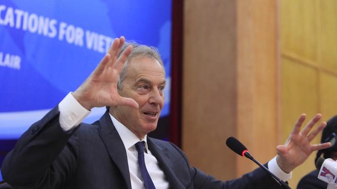 Ông Tony Blair: VN chắc không muốn quay lại cái thời 12.000 DNNN