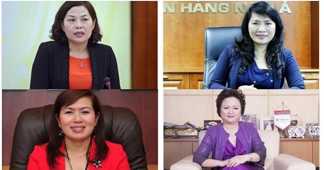 """Không ít """"nữ tướng"""" trong lĩnh vực ngân hàng đã chứng minh được vai trò lãnh đạo, điều hành trong hoạt động của ngành."""