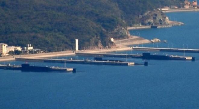 Tàu ngầm Trung Quốc ở căn cứ Tam Á không thể thoát khỏi con mắt canh chừng của Mỹ