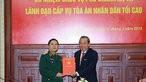 Lễ công bố và trao quyết định cho ông Nguyễn Văn Hạnh