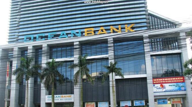 Trụ sở Oceanbank tại đường Trần Duy Hưng, Hà Nội