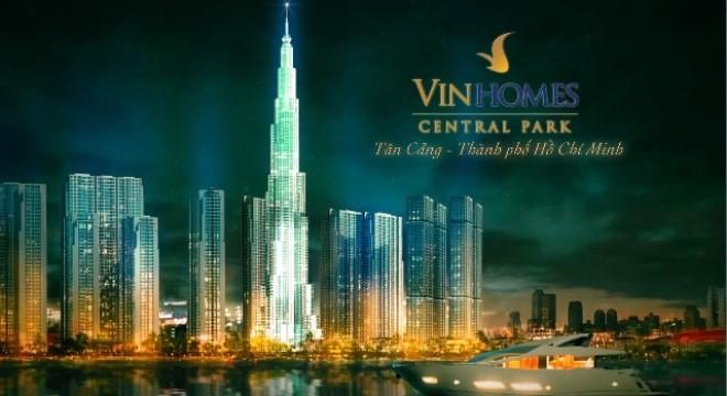 Dự án VinHomes Central Park do Công ty Tân Liên Phát làm chủ đầu tư trực tiếp.