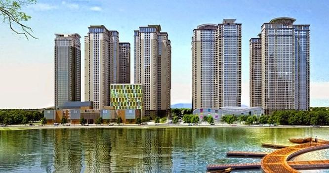 Phối cảnh khu phức hợp Goldmark City 136 Hồ Tùng Mậu.