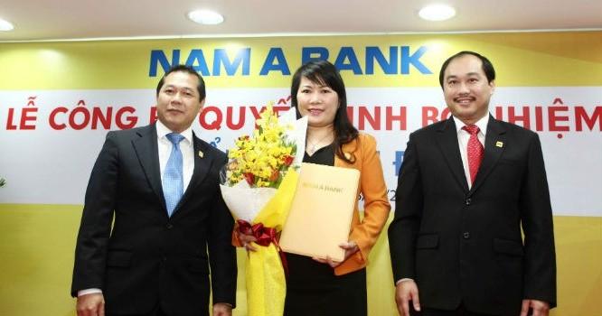Bà Lương Thị Cẩm Tú - Tân tổng giám đốc Nam A Bank.