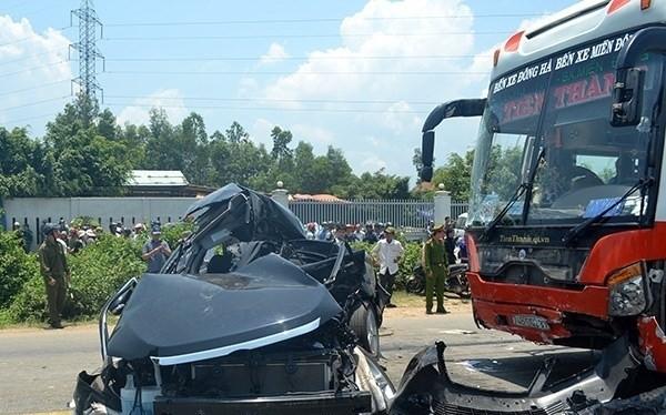 Vụ TNGT xảy ra sáng 29/4 tại Đà Nẵng làm 6 người chết và 1 người bị thương nặng là vụ đặc biệt nghiêm trọng trong kỳ nghỉ lễ