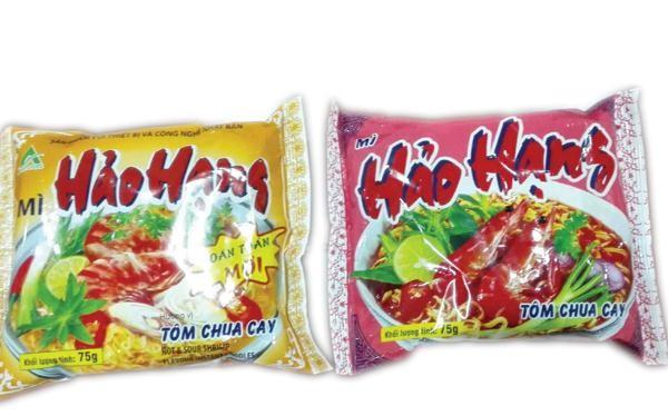 Sản phẩm Mì Hảo Hạng của Asia Foods bị tố vi phạm quyền sở hữu trí tuệ.