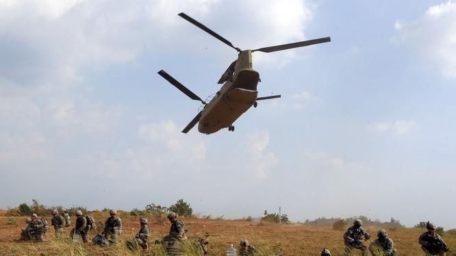 Quân đội Mỹ và Philippines đang tiến hành cuộc tập trận chung lớn nhất trong vòng 15 năm qua