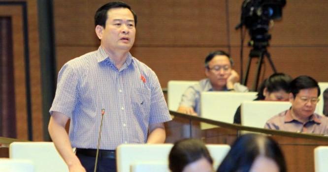 Đại biểu Quốc hội Nguyễn Đình Quyền góp ý về dự thảo Luật Kiểm toán Nhà nước